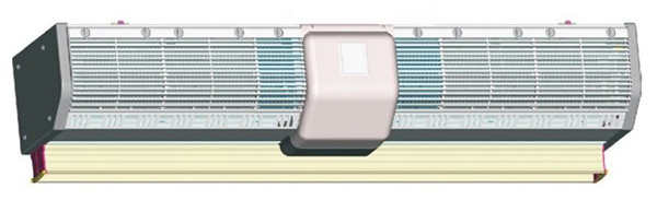 Тепловая завеса OLEFINI K-36 S/S SD (IP24)
